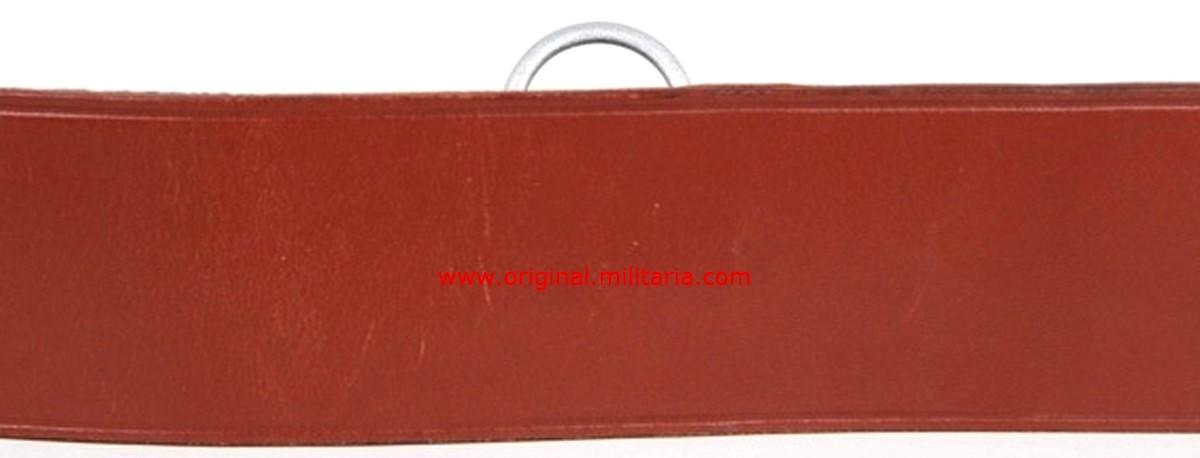 LW/ Cinturón con Bandolera de Oficial Fabricado por Assmann
